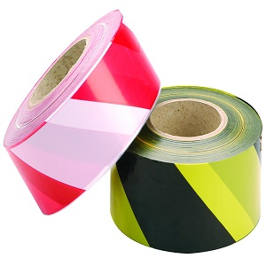 50mm x 33M Hazard Tape