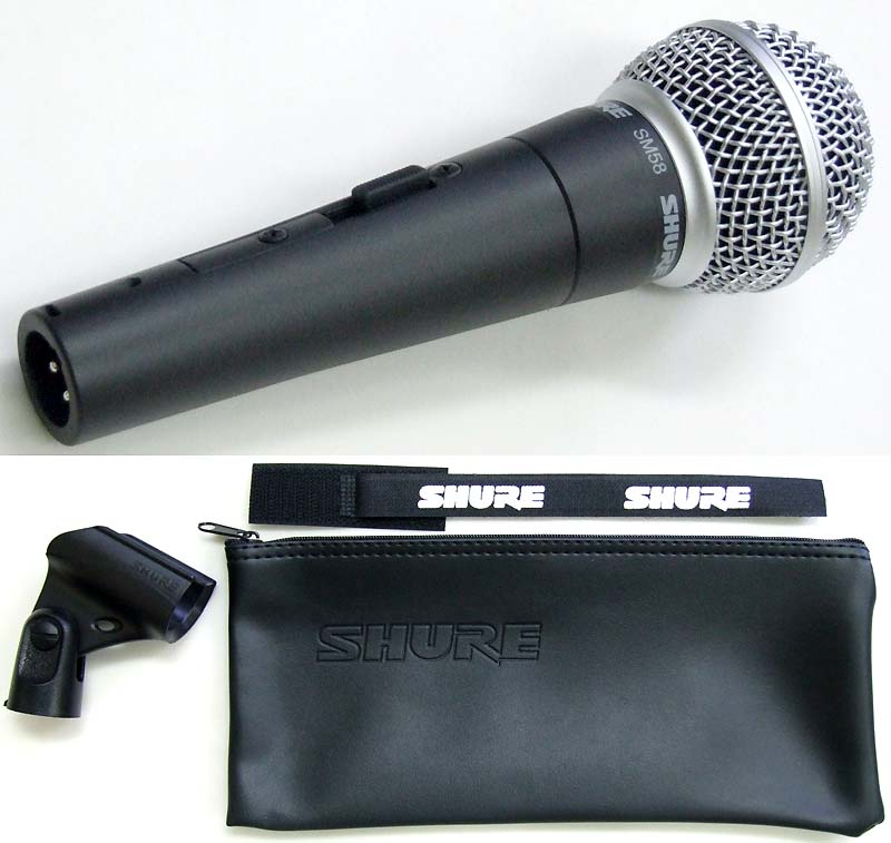 Shure SM58 Switched